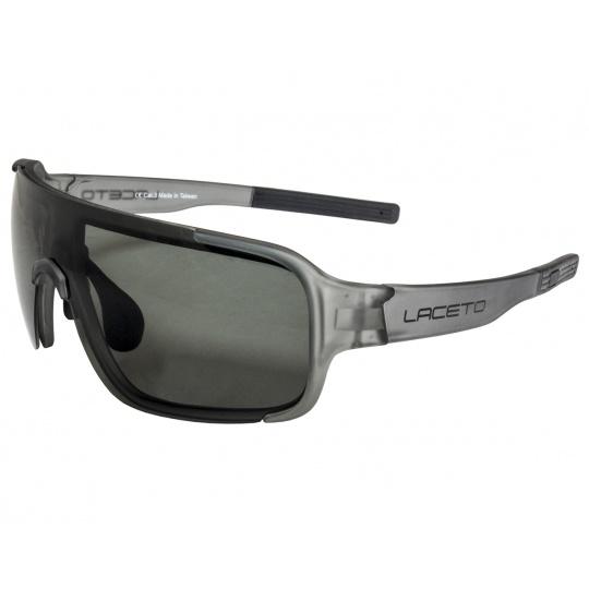 Polarizačné slnečné okuliare Laceto FISK GREY