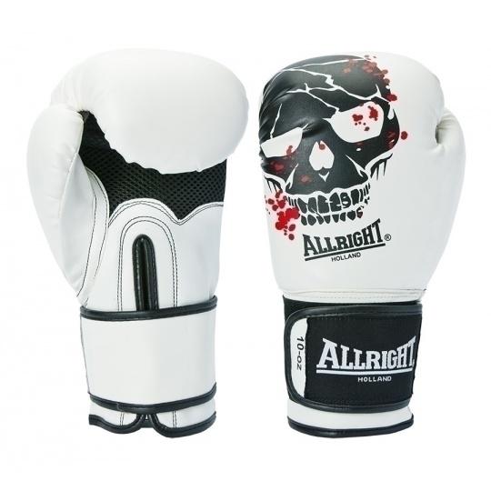 Boxerské rukavice Allright Holland Skull 10 oz