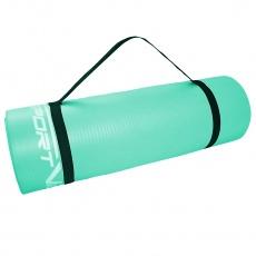 Podložka na cvičenie NBR 1,5 cm sv.zelená