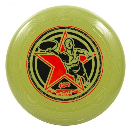 Lietajúci tanier Frisbee Wham-O ALL SPORT 140 g zelený