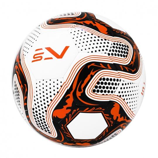 Futbalová lopta SPORTVIDA rozmer 5 - ORLIK oranžový