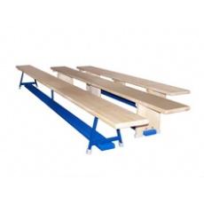 Gymnastická lavička s kovovou konstrukcí 3 m