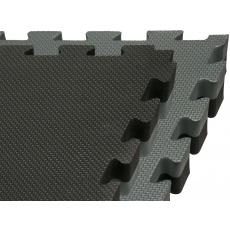 Tatami Puzzle 100x100x4 cm šedo-černá