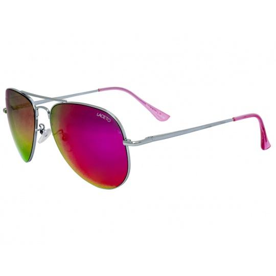 Sluneční brýle Laceto AVIATOR SILVER