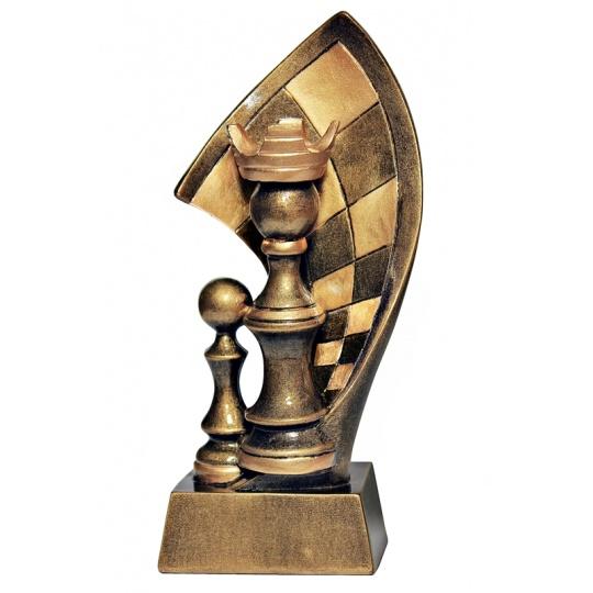 Odlévaná figurka šachy