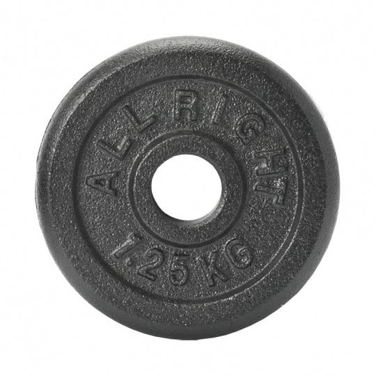 Liatinový kotúč Allright 1,25 kg priemer 28 mm