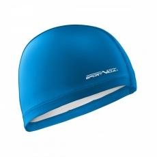 Plavací čepice dvouvrstvá modrá
