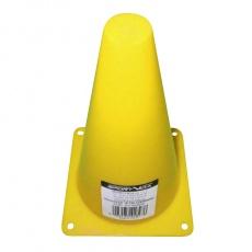 Tréninkový kužel 23 cm Sportvida žlutý