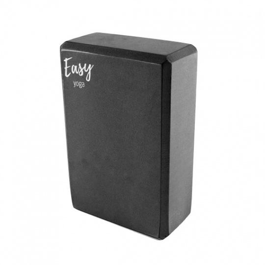 Jóga kostka Easy černá 10 cm