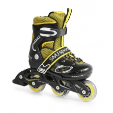 Kolieskové korčule nastaviteľné 2v1 SMJ sport CRK (28-31)