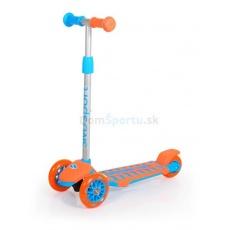Trojkolečková koloběžka SMJ sport oranžovo-modrá