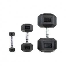 Jednoruční činka HEX PROUD 10 kg