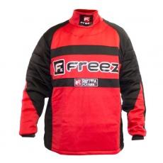 FREEZ Z-80 GOALIE SHIRT BLACK/RED senior
