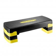Aerobic step 4FIZJO 3-stupňový - žlutý