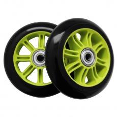 Kolieska PP ABEC-7 100MM PU- zelené- set 2 ks