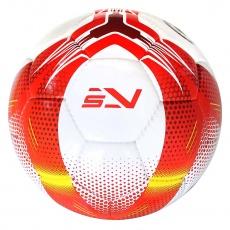 Futbalová lopta SPORTVIDA rozmer 5 - MATCH červený