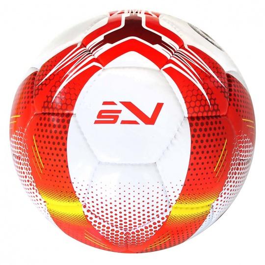Fotbalový míč SPORTVIDA rozměr 5 - MATCH červený