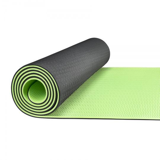 Jóga podložka TPE 4FIZJO zelená 183 x 61 x 0,6 cm