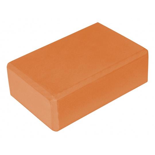 Jóga kostka - oranžová
