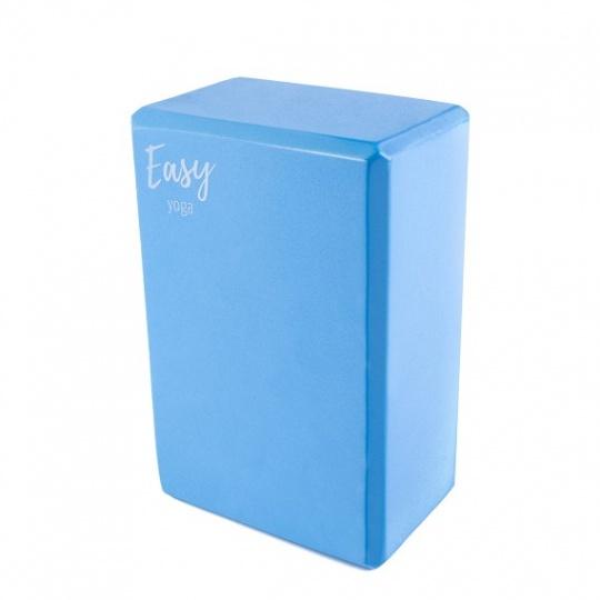Jóga kostka Easy modrá 10 cm