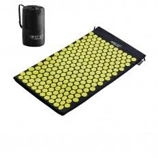 Akurpresurní podložka 4FIZJO 72 * 42 cm černo-žlutá