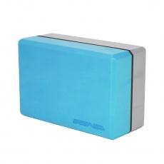 Jóga kocka SPORTVIDA modro-šedá
