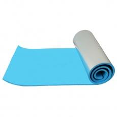 Karimatka s ALU fóliou Sportvida 180x50x1.0 cm modrá