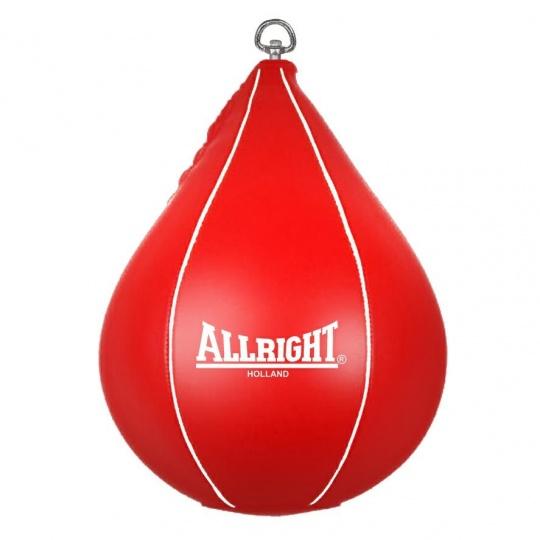Boxerská závěsná hruška Allright Holland červená