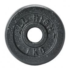 Liatinový kotúč Allright 1 kg priemer 28 mm
