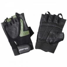 Fitness rukavice SportVida zeleno-černé XL