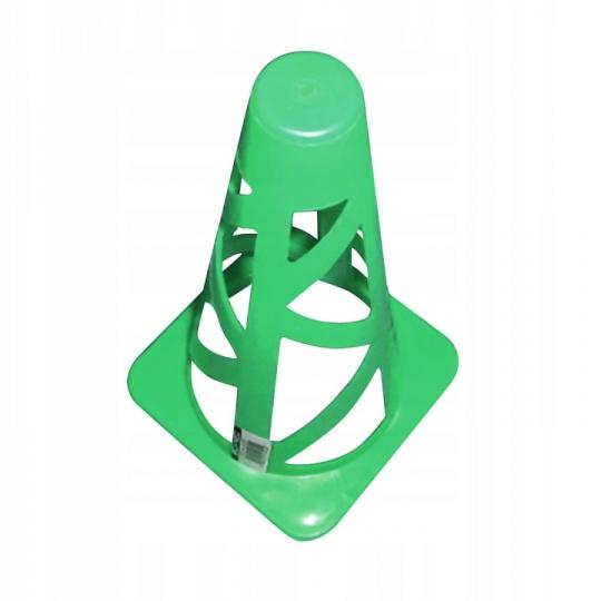 Tréningový kužel 23 cm Sportvida zelený
