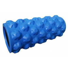 Masážní válec Sportvida 33 cm modrý