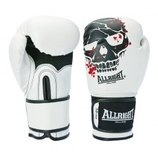 Boxerské rukavice Allright Holland Skull 12 oz