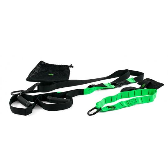 TRS pásy pre silový tréning - zelené