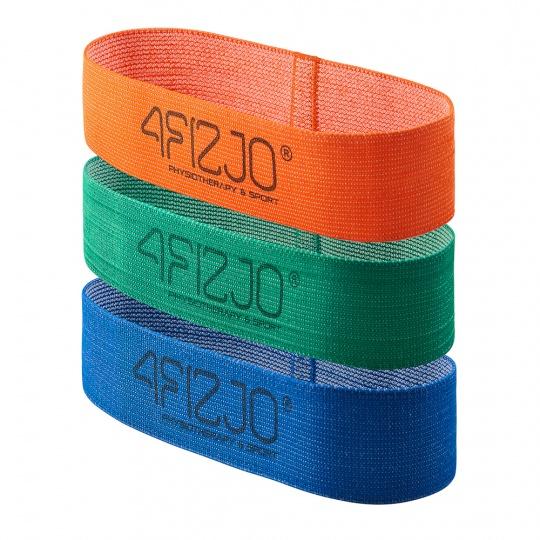 Textilní Flex Band 4FIZJO sada 3 ks