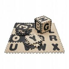 Podložka na cvičení - Tatami Puzzle 4Fizjo písmenka 180 x 180 x 1 cm