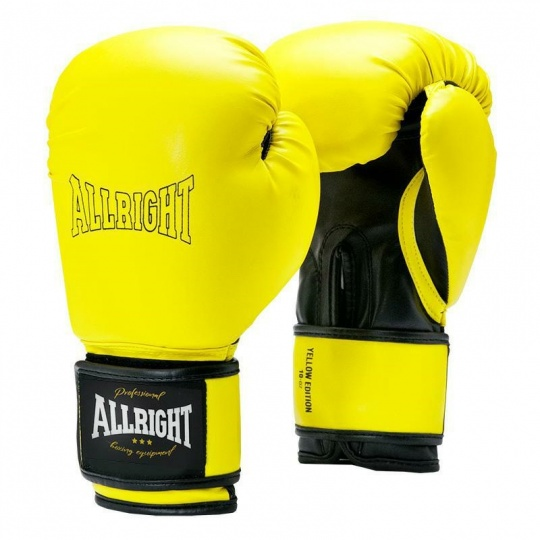 LIMITOVANÁ EDÍCIA ALLRIGHT HOLLAND 12oz žlté boxerské rukavice