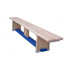 Gymnastická lavička drevená 4 m