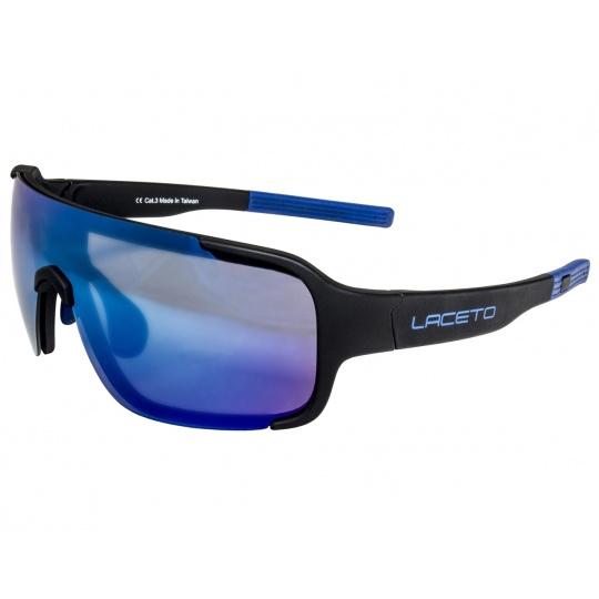 Polarizačné slnečné okuliare Laceto FISK BLACK