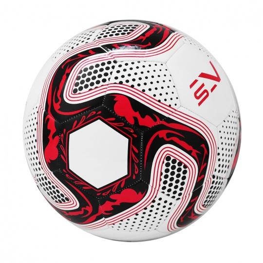 Futbalová lopta SPORTVIDA rozmer 5 - ORLIK červený