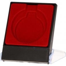 Pouzdro na medaili 5 cm červené