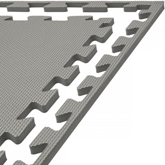 Tatami puzzle 100 x 100 x 1 cm šedá