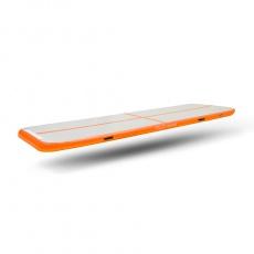 Airtrack nafukovací žiněnka 500 x 100 x 20 cm oranžová