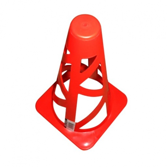 Tréninkový kužel 23 cm Sportvida červený