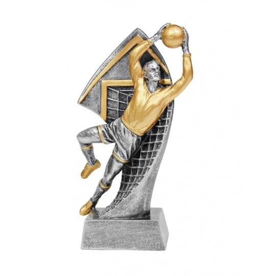 Odlévaná figurka fotbal brankář