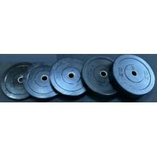 Set BUMPER olympijských kotoučů 150 kg