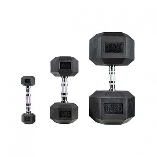 Jednoruční činka HEX PROUD 15 kg