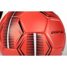 Futsalová lopta SPORTVIDA Game - veľkosť 4, červený