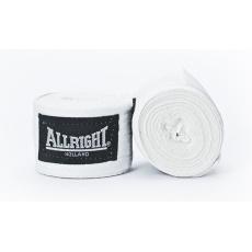 Boxerská bandáž Allright Holland 4,2 m biela - 2 ks