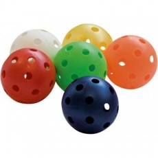 floorbalové loptičky rôzne farby